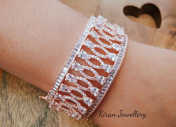Rose Gold Polish Elegant Bracelet
