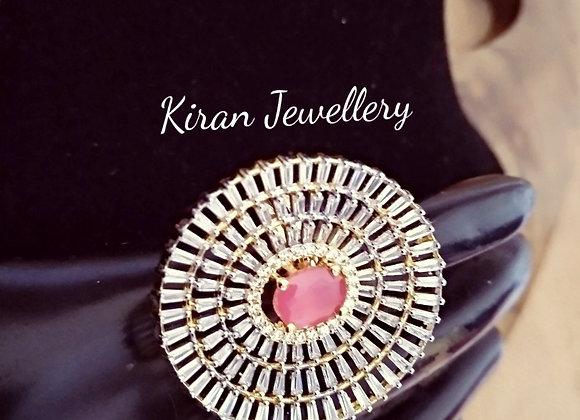 Ruby Stone Elegant Ring