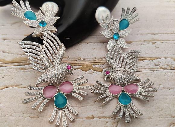 Baroque Pearl Designer Earrings