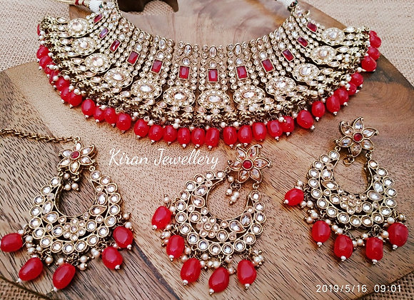 Beautiful Polki Necklace