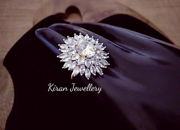 Elegant AD Ring