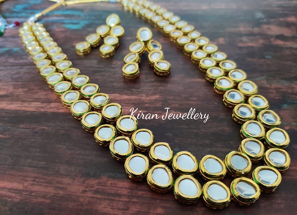 Long Kundan Necklace