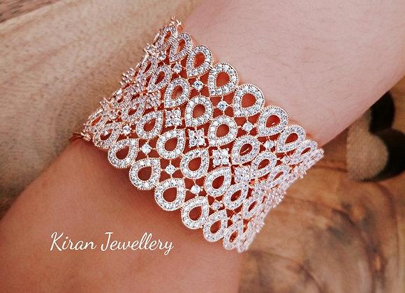 Rose Gold Polish AD Bracelet