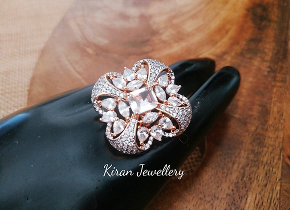 RoseGold Polish Elegant Ring