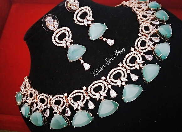 SeaGreen Stone Necklace