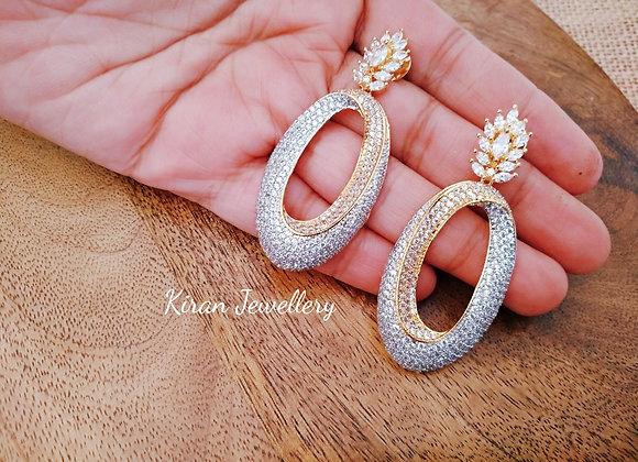 AD Stone Elegant Earrings