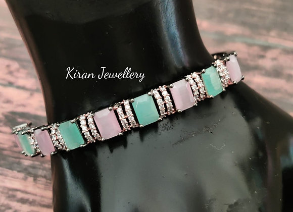 Pink Mint Elegant Bracelet