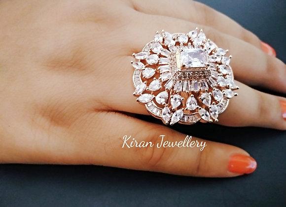 RoseGold Polish Stylish Ring