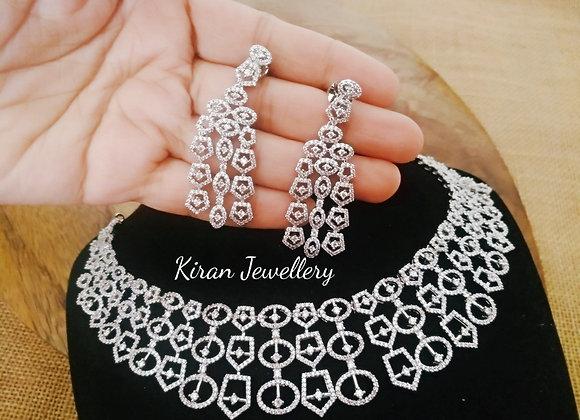 White Polish Stylish Necklace