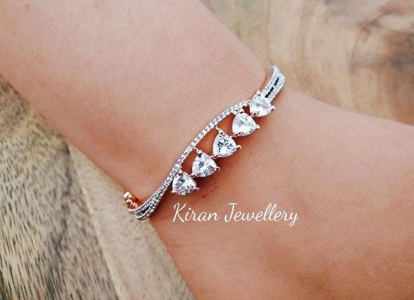 Beautiful Rosegold Stone Bracelet