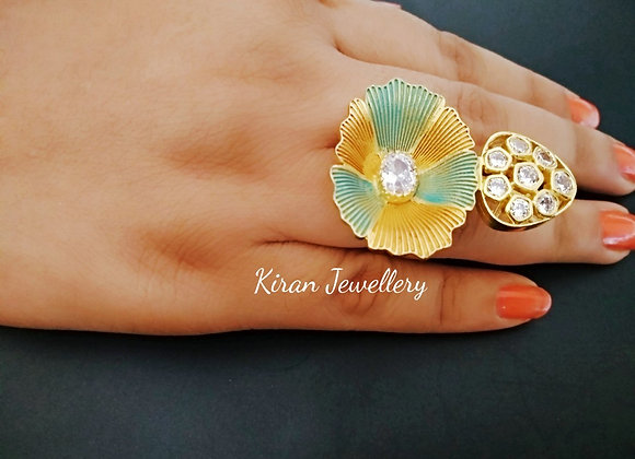 Stylish Ring With Lovely Colors