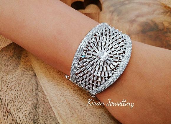 White Polish AD Bracelet