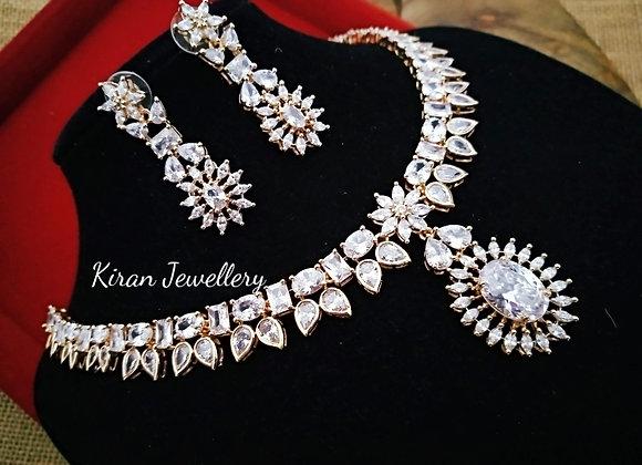 RoseGold Polish Elegant Necklace