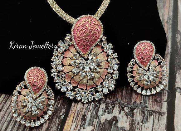 Meena Stylish Pendant Set