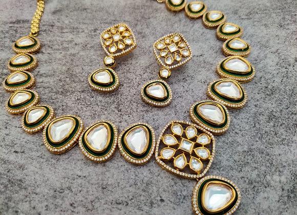 Real Look Kundan Necklace
