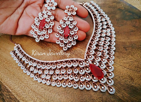 Ruby Stone Necklace