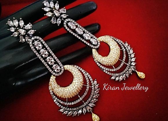 Oxidized Elegant Earrings