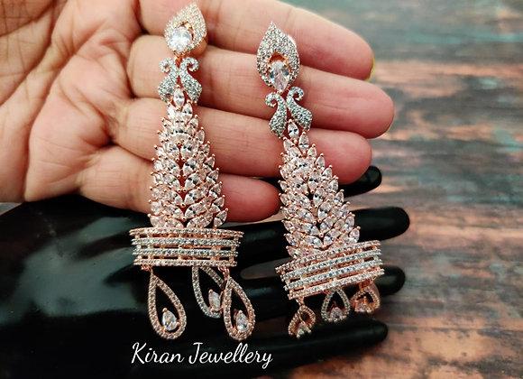 Rosegold Elegant Earrings