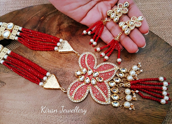 Red Mala Butterfly Set