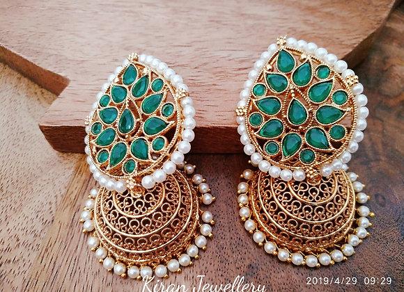 Beautiful POLKI Earrings