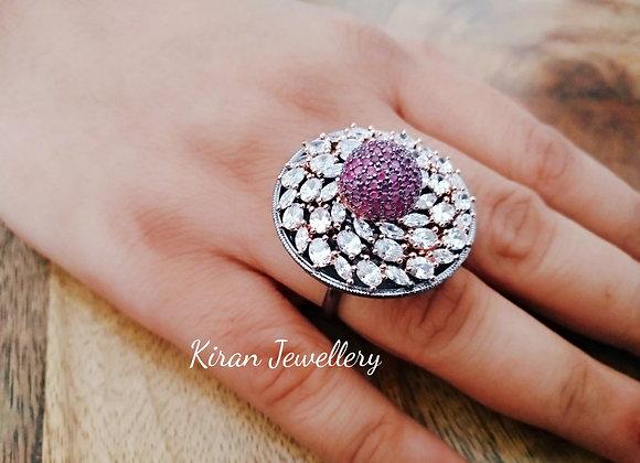 Lovely Stone Work Ring