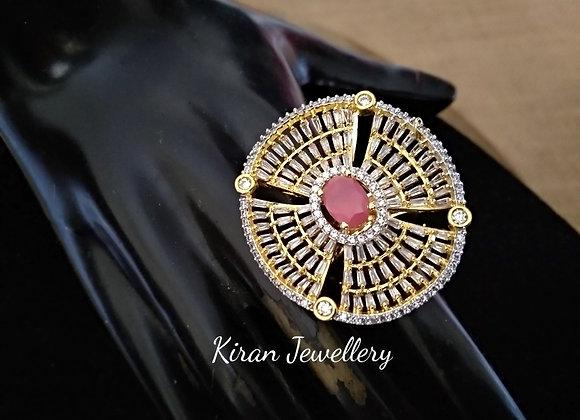 Stylish Ring In Ruby Stone