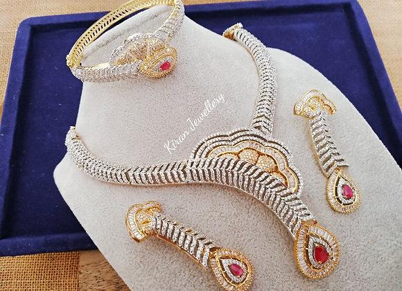 Necklace Bracelet Combo