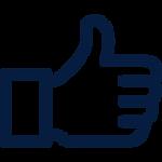 like button social media