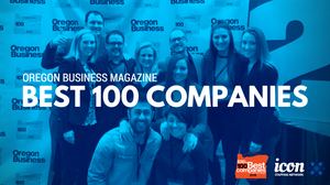 Oregon business magazine best 100 companies ICON Staffing Network