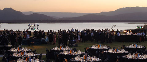 Ross Dam Sunset Gala Dinner