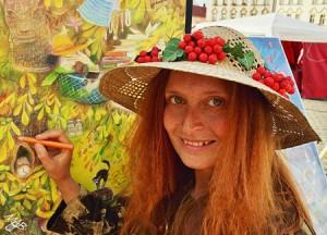 """Malířka Marie Brožová: """"Žijeme v té nejsvobodnější době, záleží jen na nás, zda uskutečníme své"""