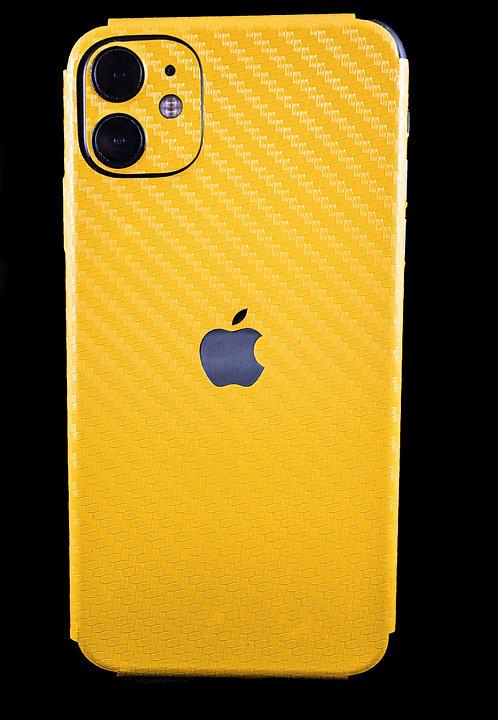 Fibra de Carbono Amarilla