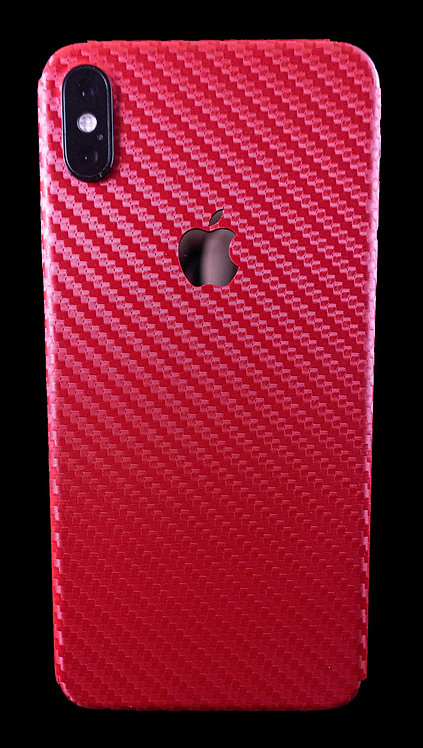 Fibra de Carbono Roja