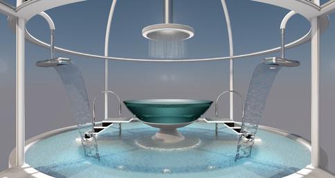 Bañera de Hotel en Dubai