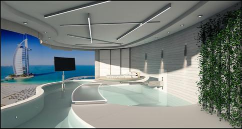 Habitación de Hotel en Dubai