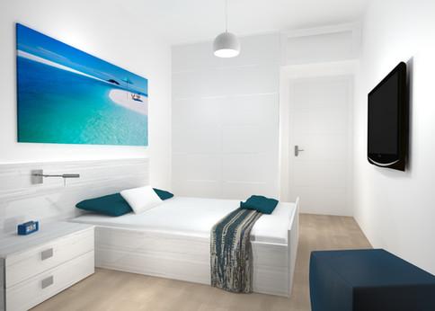 Dormitorio de Piso en Madrid