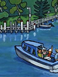 Anderson Hire Boat Brisbane Water