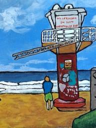 Surf Check Shark Tower Avoca Beach