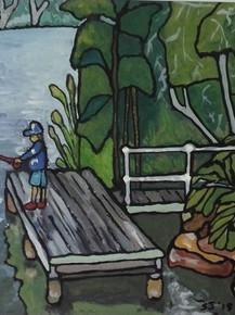 Avoca Lagoon Fishing Spot