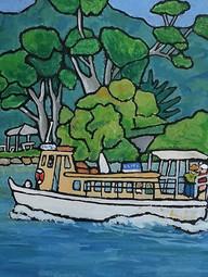 Cockatoo Ferry into Hardy's Bay