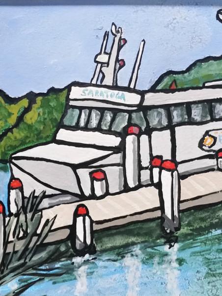 Saratoga Ferry Woy Woy