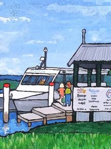 Saratoga Ferry Pickup Davistown