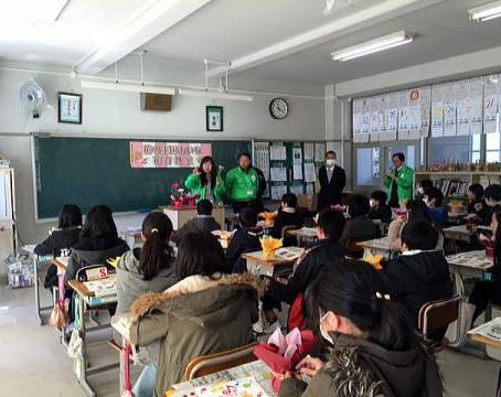 小学校花育教室