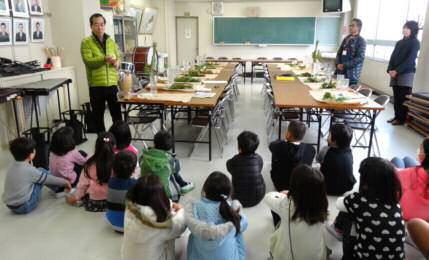 八熊小学校花育プロジェクト 2014