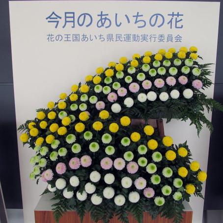 花の王国あいちPR装飾セントレア会場