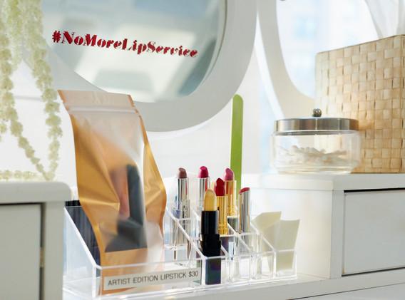 #NoMoreLipService artist edition lipstick