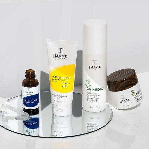 Oily skin & oil control kit
