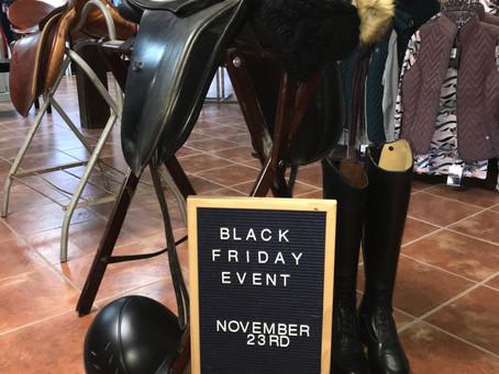 Black Friday Sale Event!