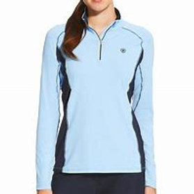 Womens Tri Factor Heat Gear 1/4 Zip