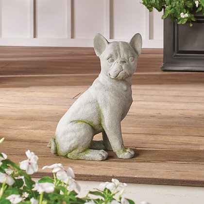 French Bulldog Garden Statue - GR